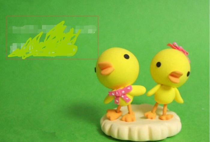 可爱的粘土小鸭子,可爱的小鸭子粘土手工教程