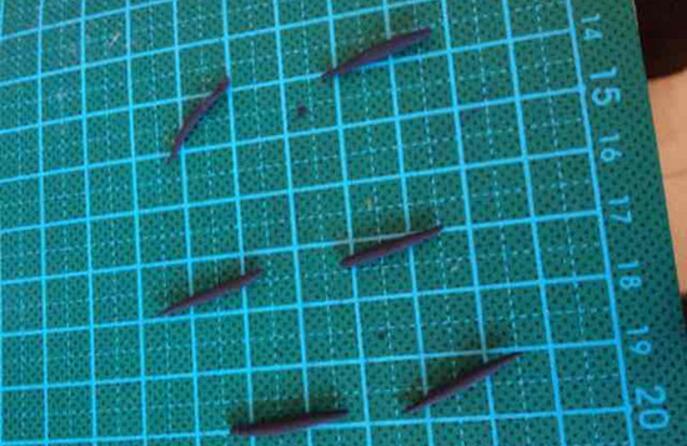 超轻粘土制作七星瓢虫过程手工diy简单易学